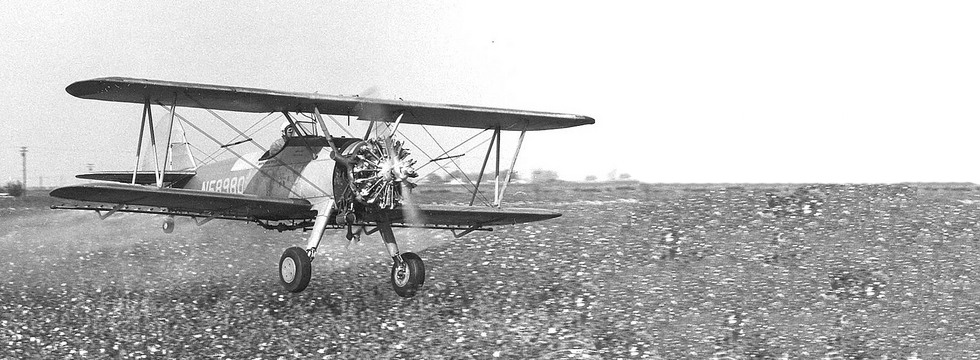 History Of Agricultural Aviation